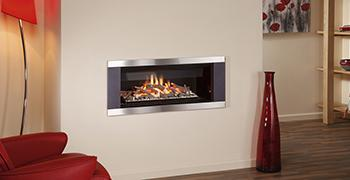 High Efficiency Natural Gas Fireplace